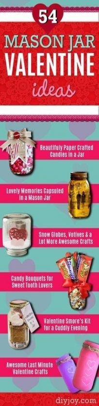 26+ Ideas diy gifts for boyfriend homemade mason jars