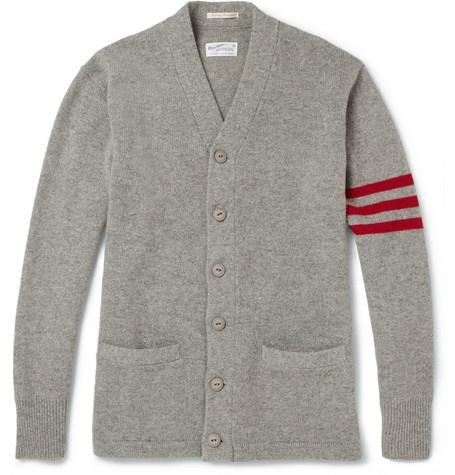 Gant RuggerVarsity Wool Cardigan
