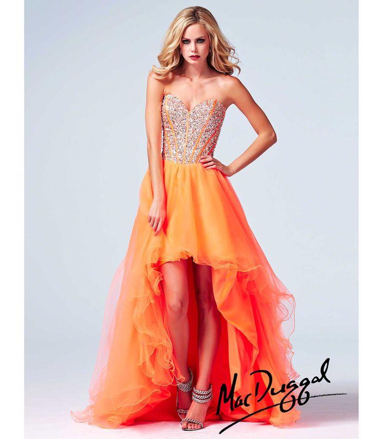 prom dresses orange - Google Search