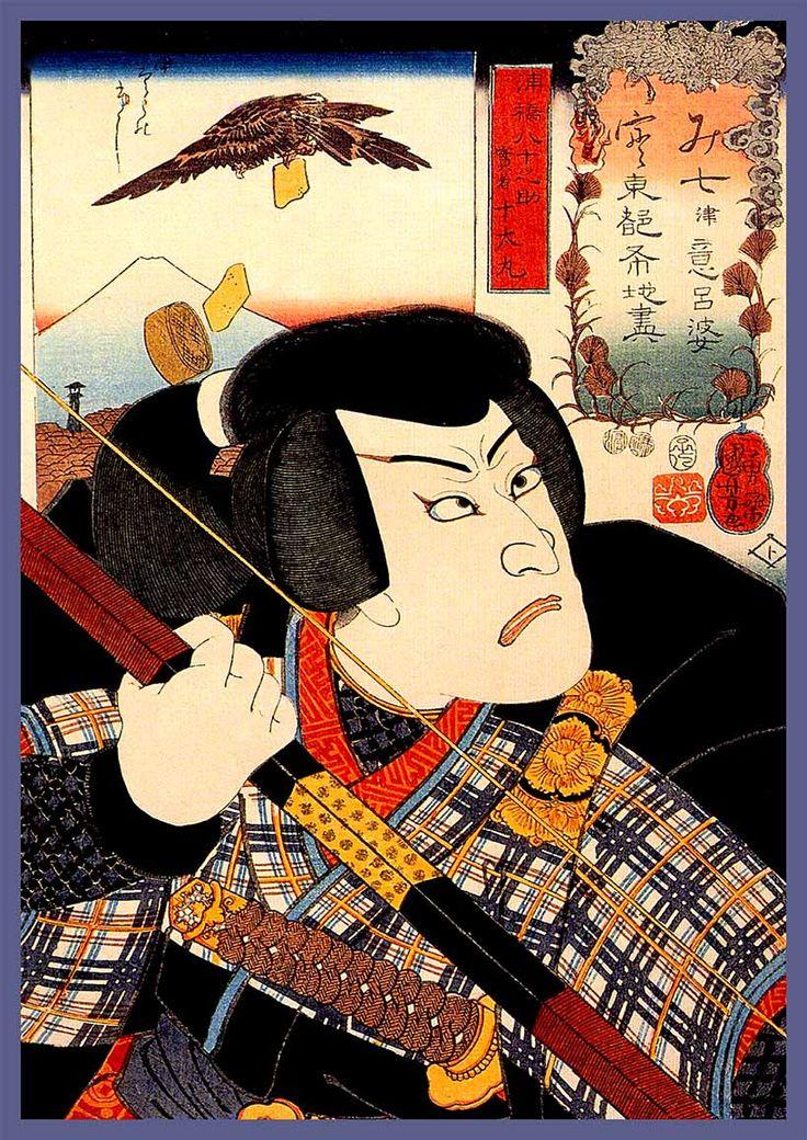 Kabuki actor kuniyoshi by utagawa kuniyoshi