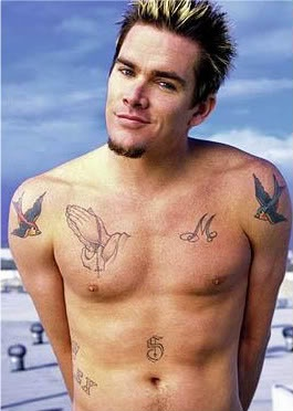 90 best images about a w e s o m e on pinterest alex for Mark mcgrath tattoos