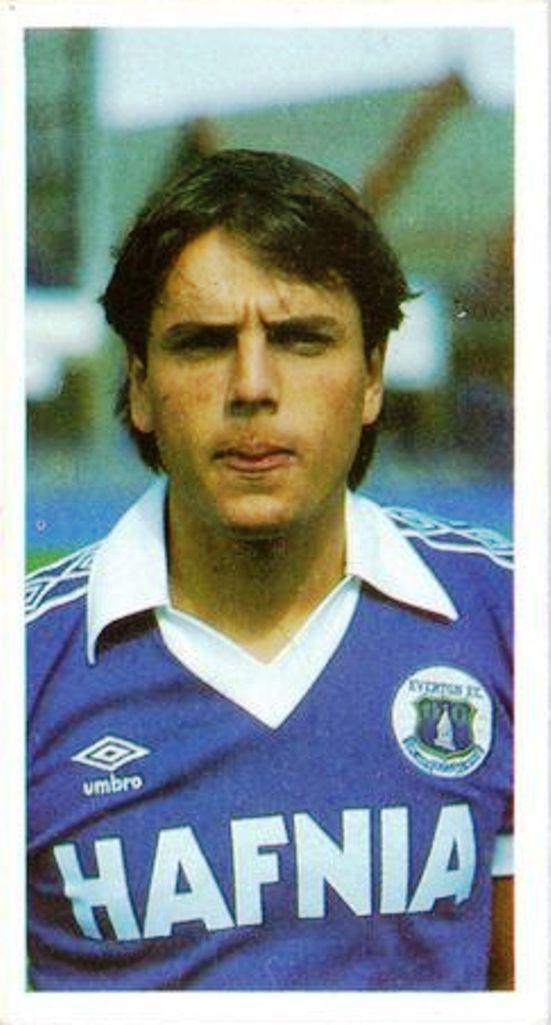 Greame Sharp 1982-83 Everton