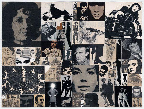 """Roman Cieslewicz, """"Collages structurels"""", Circa 1966;  © Collection Musée national de l'histoire et des cultures de l'immigration, Paris"""