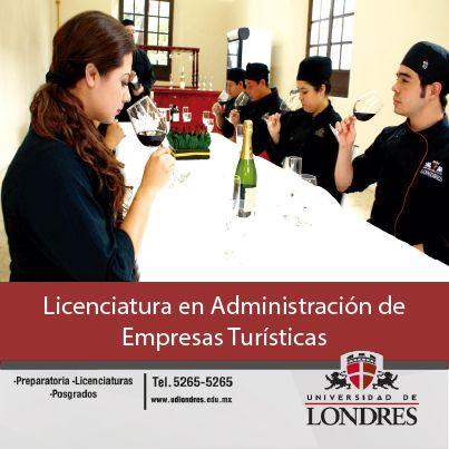Lic. en Administración de Empresas Turísticas