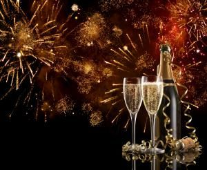 fireworks-champagne.jpg - Photo © Mark Swallow/Getty Images