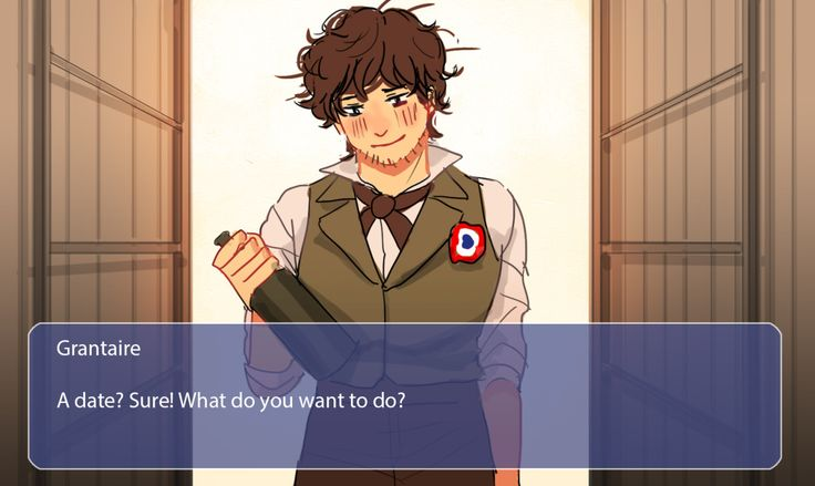 "sai-tt: ""Mock-up screenshots if there is les mis dating sim game """