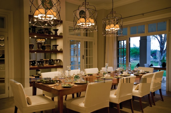 the manor dining room