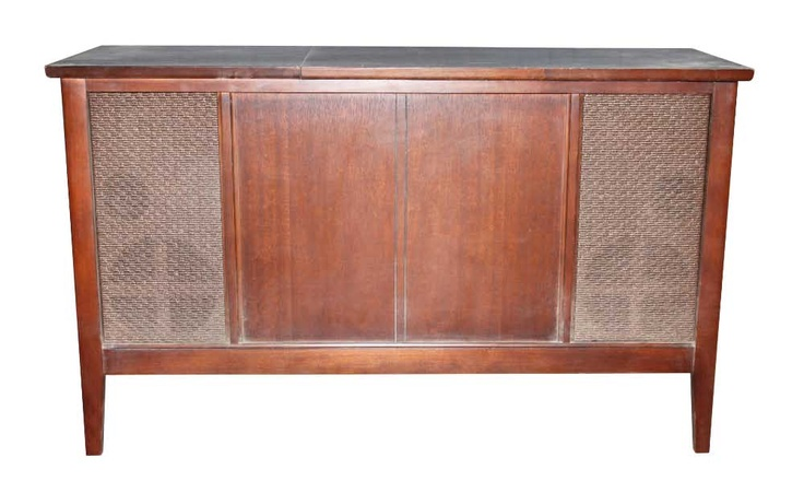 $329 Antique record player in wooden cabinet