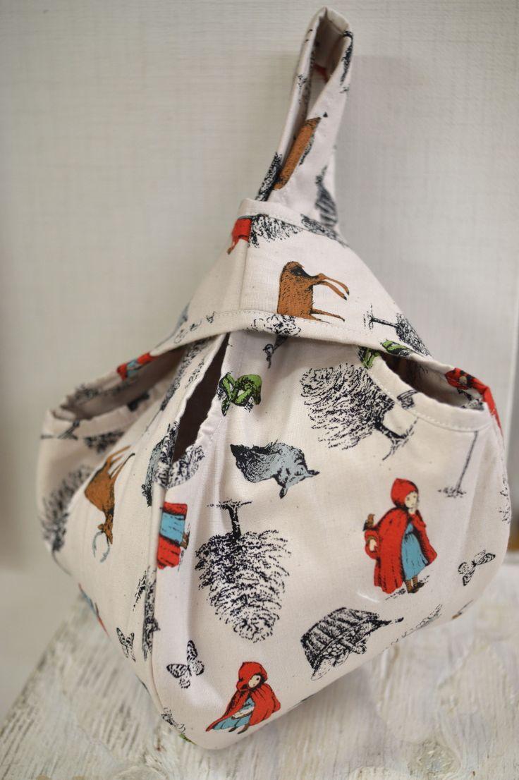 Little Red Riding Hood bag quilt pattern - Kokka-Fabric.com