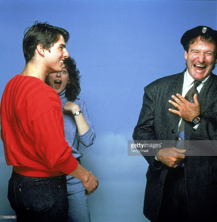 Actors Tom Cruise Marlee Matlin (obsc) and Robin Williams Pictures ...