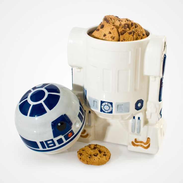 R2-D2 cookie jar. What could be cuter!
