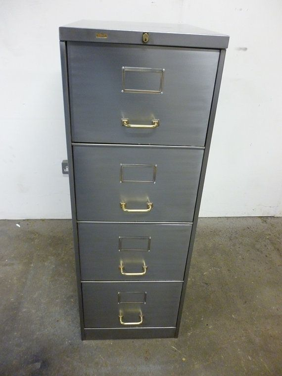 Awesome Vintage Style Filing Cabinet