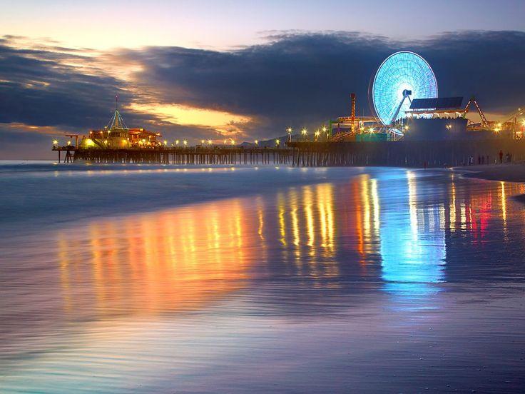 Santa Monica: Awesome Travel, Santa Monica California, Southern California, Favorite Places, The Angel, Sunsets Santa, Cali Trips, Santa Monica Pier, California Shops
