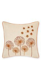 Dandelion Embroidered Cushion