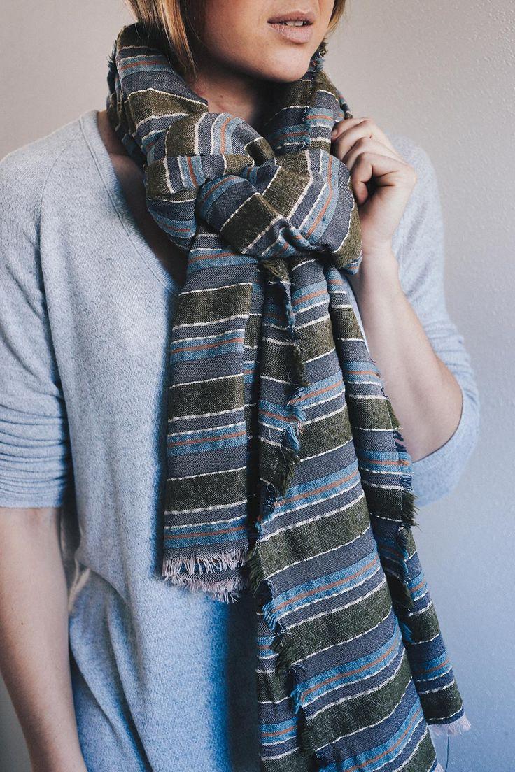 Schal Style Guide: 5 Schöne Ideen, Wie Man Schals Binden Kann!