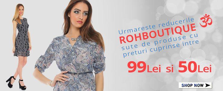 Sute de produse cu preturi cuprinse intre 50Lei si 99Lei ! http://rohboutique.ro/s/lp=50/hp=99/ord=naz/h=1/