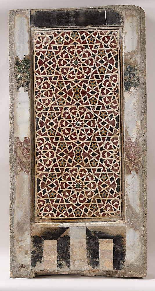 Wall Panel with Geometric Interlace  Date: 15th century  Accession Number: 1970.327.8: Cairo Polychrom, Interiors Wall, Interlac Egypt, Wall Panels, Mosaics Decor, Polychrom Marbles, 15Th Century, Geometric Interlac, Marbles Mosaics