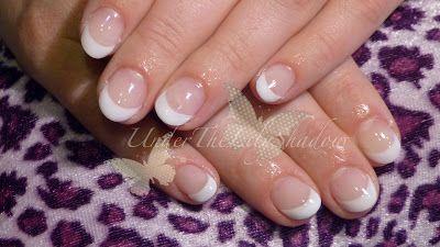underthelilyshadow: ☆★ French gel nails ★☆