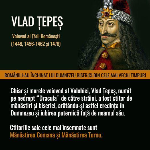 Vlad Țepeș - Voievod al Țării Românești (1448, 1456-1462, 1476)