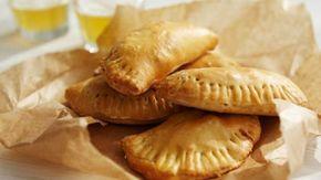 BBC Food - Recipes - Savoury pies with Jarlsberg cheese and ham (Norwegian pierogi)