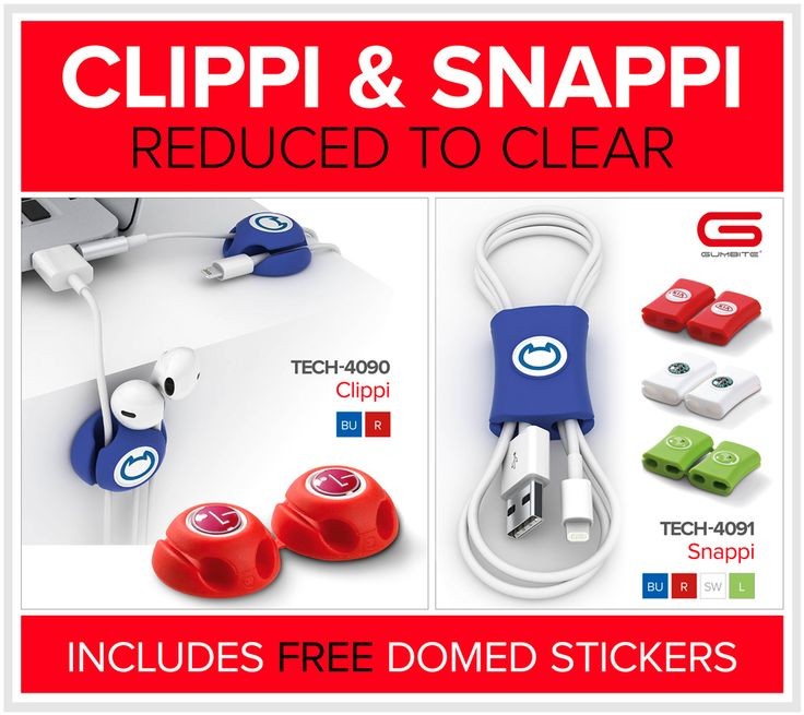 Gumbite | Clippi & Snappi | Promotional Gifts