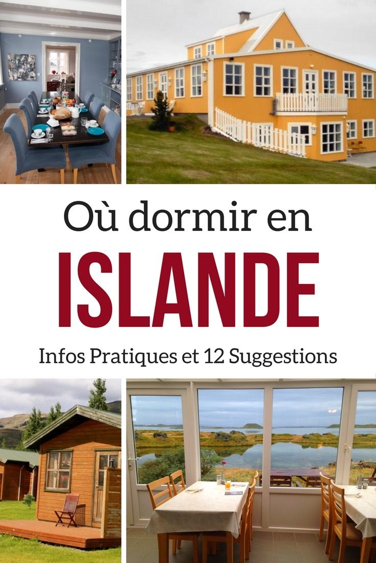 Infos pratiques sur les Hébergements en Islande + 12 suggestions d'auberges et d'hotels en Islande  | Islande voyage | Islande itinéraire
