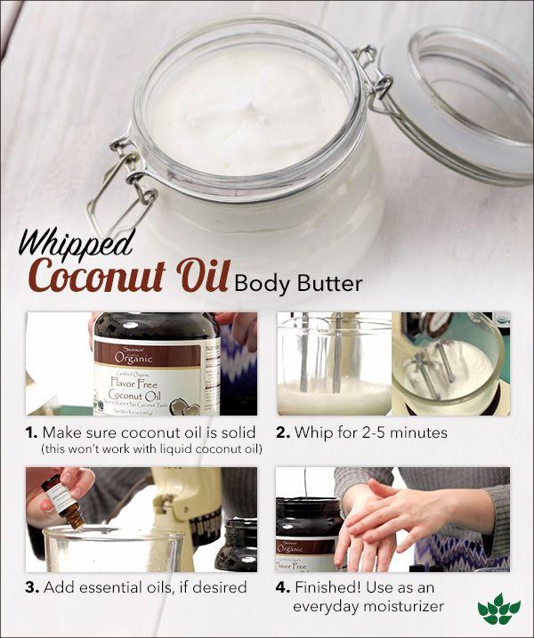 Whipped Coconut Oil Body Butter & Sugar Scrub