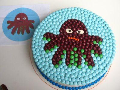 bolo festa do mar