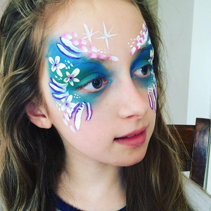 #facepainting #bloemenprinses
