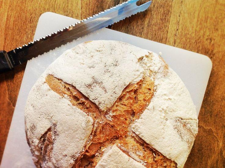 Tu primer pan con masa madre. Un pan que sabe al de siempre