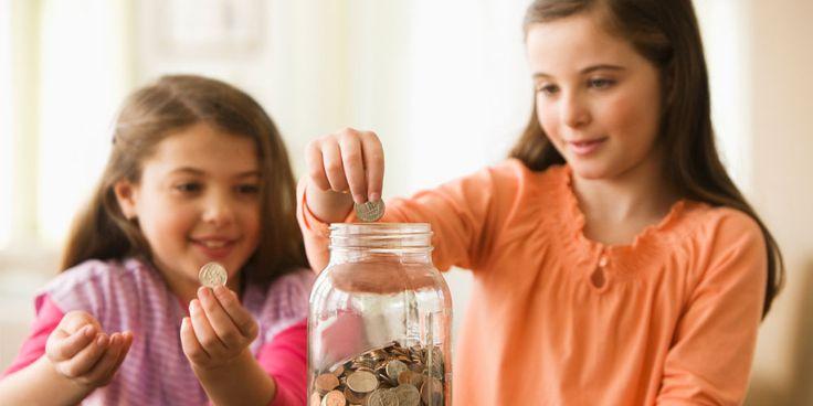 Fun ways to teach children how to save.