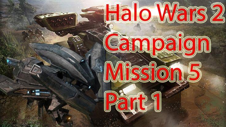 Halo Wars 2 | Mission 5 | Part 1