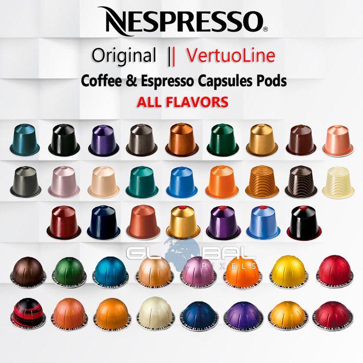 Details about nespresso originalvertuoline capsules pods