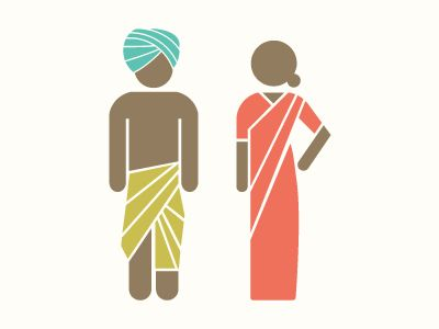 Jag Nagra / Indian icons for Washroom