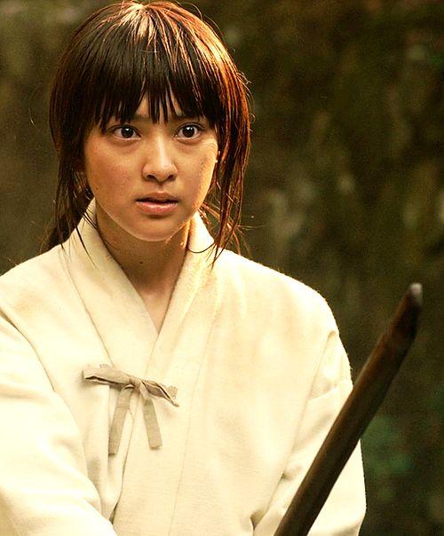 Emi Takei as Kaoru Kamiya, Rurouni Kenshin live action.