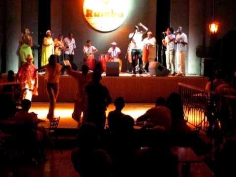 Tata Guines Junior in the Palacio de Rumba, Habana, Cuba 4/8/10 - YouTube