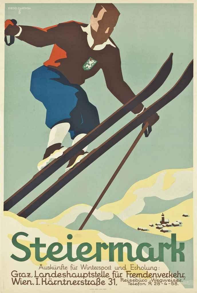 https://flic.kr/p/CMjswf | Steiermark, Österreich (c.1930) | Artist : Edith Reidel (1909-1992)
