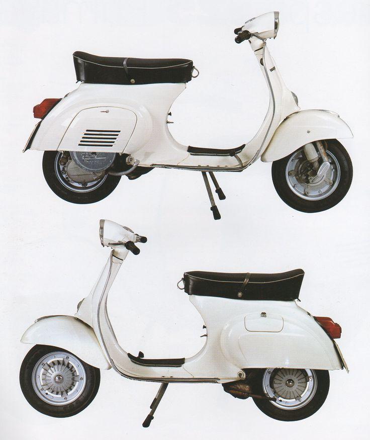 Esta es la que Me Encantaría tener! <3<3<3  Vespa 125 Primavera de 1968.-