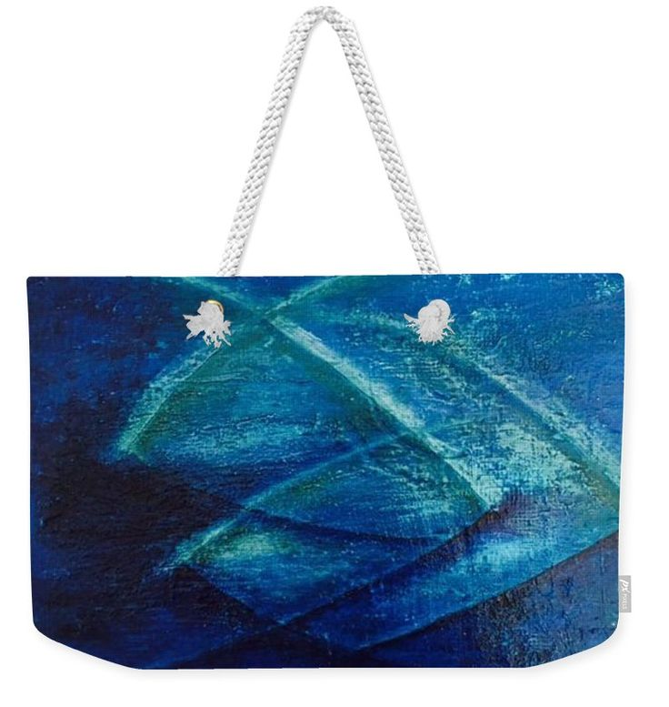Modern abstract painting on weekender Tote bag. Fine art piece, about original abstract oil painting of Ágota Horváth. Very usefull  big Tote bag for weekend trips or for to the Beac, for You, for your Family or for present to girlfriends. You can order on pixels.com different size and with this design other products also - towels, pillow, duvet cover and many more other products. Have a fun!