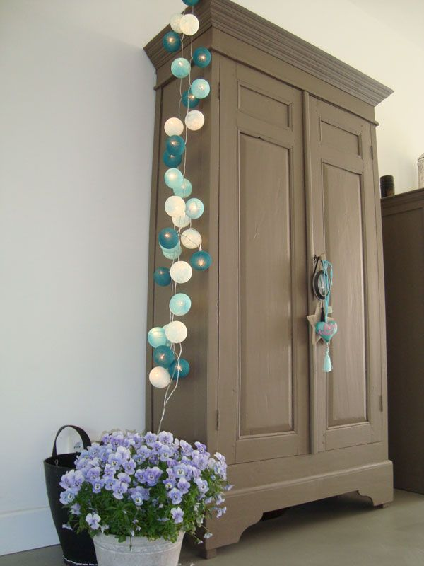 25 best ideas about ball lights on pinterest simple crafts homemade stuff to sell and homes - Cotton ballspractical ideas ...