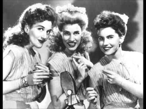 Andrew Sisters-  In The Mood