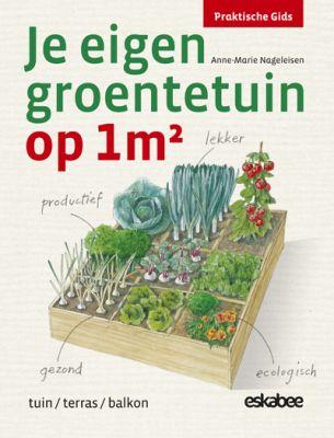 Je eigen groentetuin op 1 m2: Square Foot Gardening: moestuinieren op één vierkante meter.Ideaal voor iedereen met een dakterras of kleine tuin:    Een moestuintje op een vierkante meter die in negen vakken verdeeld wordt.    En als je een grotere tuin hebt, kun je met meerdere tuintjes van een vierkante meter op een overzichtelijke manier moestuinieren. #moestuin #groentetuin #boek