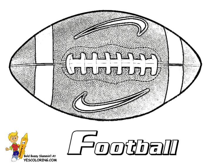 Saints Football Coloring Pages