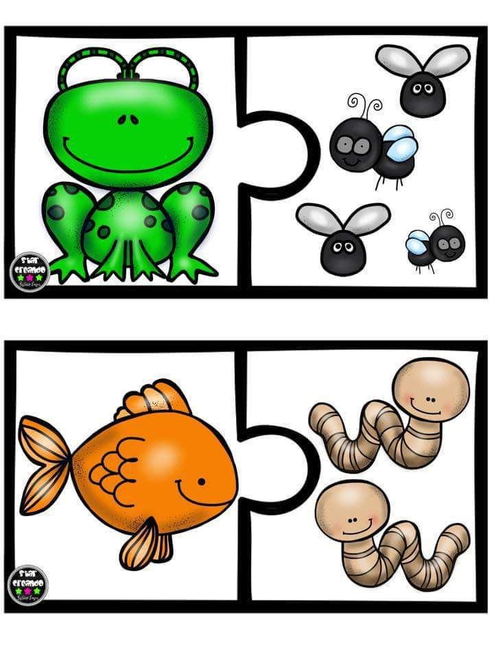 Puzle animales vs alimento (2)
