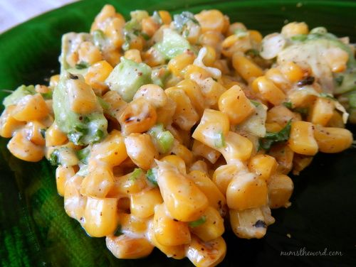 This Mexican Corn Salad {esquites} is one of the most amazing side dishes I have ever had. Use grilled corn or canned! It only takes minutes to make!