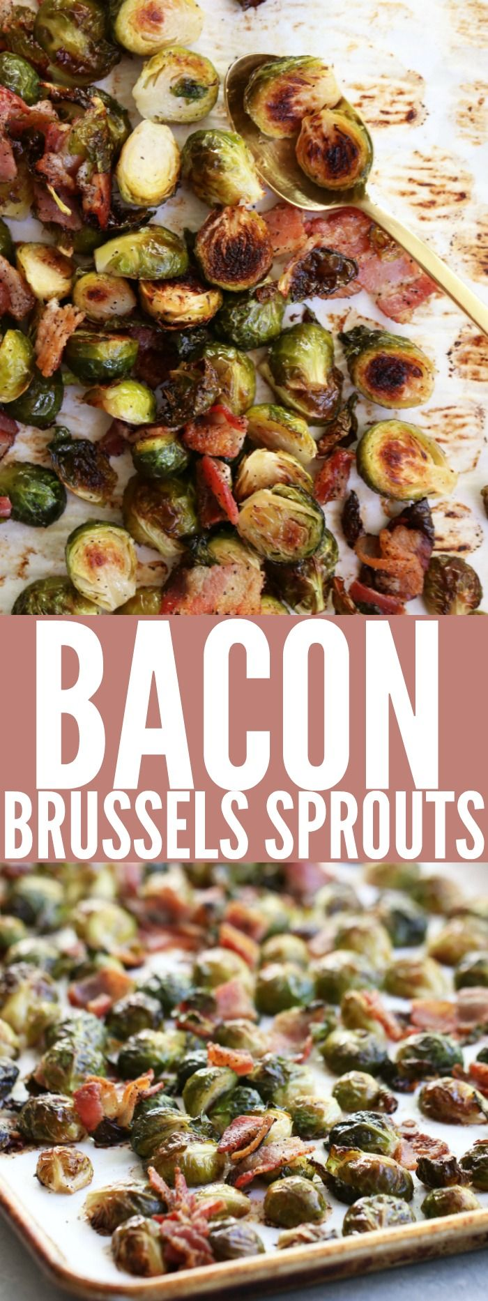The BEST and only Brussels Sprouts recipe you'll ever need! This Bacon Brussels Sprouts appetizer is low carb, gluten free, and paleo! You'll love it! thetoastedpinenut.com #lowcarb #glutenfree