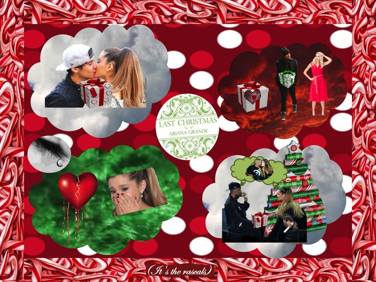 22 best Yours Truly and Christmas Kisses Photo Collages Inspired ...