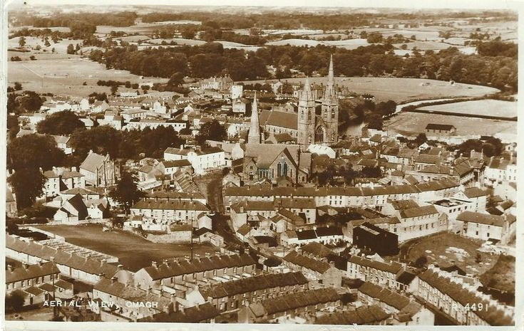 Image result for aerial view omagh historic