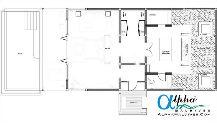 Sunset Pool Villa - Floor Plan
