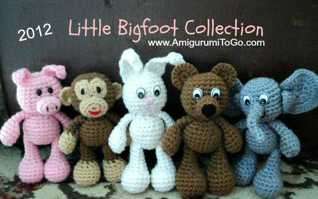 Meet the new Little Bigfoot Elephant!   For those of you following this blog you know that I am going through each of my Little Bigfo...